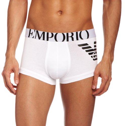 Emporio Armani Intimates Herren Boxershorts - Weiß (White) - Small
