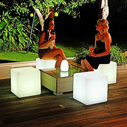 MO&SU LED barkruk barkruk kleurverandering kinderkruk opladen tafellamp 3600mAh waterdicht Adult barstoel voor Party Decoratie hof 61 cm
