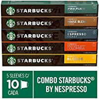 Kit de Cafés Starbucks by Nespresso - 50 cápsulas