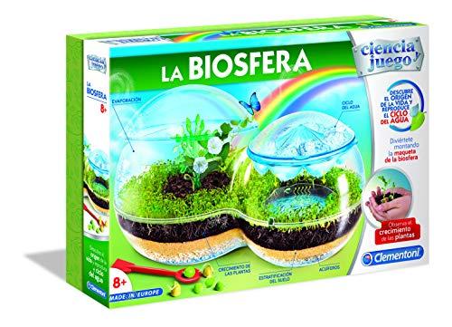 Clementoni-55283 - La Biosfera - juego científico a partir de 8 años