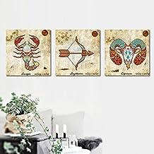Paintsh Decorative Painting Home Furnishing Soft Print Living Room Frameless Sofa Sofa Wall Bedroom Wall Painting Triple E...