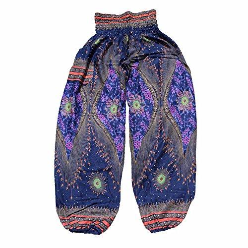 FRAUIT Losse yoga leggings broek Boho festival hippie kit hoge taille yoga broek hippie boho broek 2 in 1 harembroek & jumpsuit aldinbroek pompbroek