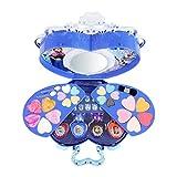 fllyingu Kit de Maquillage pour Enfant Disney La Reine des neiges - 39 pièces