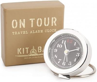 Reloj despertador de viaje bolsa en caja de regalo: Amazon.es: Hogar
