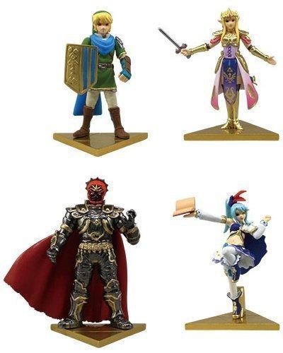 Takara Tomy The Legend of Zelda Hyrule Warriors Stand Figure Set of 4