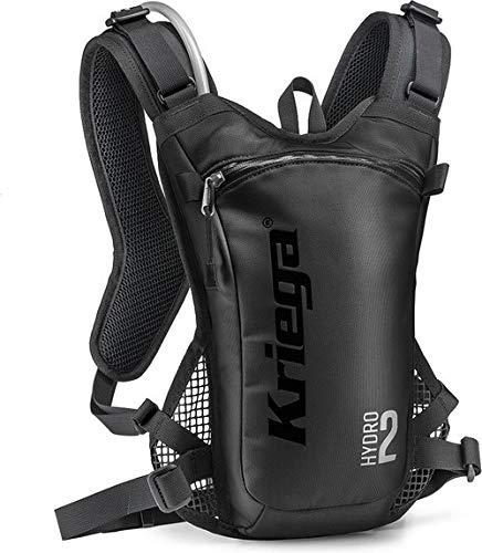 Kriega Hydro 2 Rucksack Wassertasche Trinkbeutel Trinksystem Motocross MX 2 Liter, 6501200, Farbe Schwarz