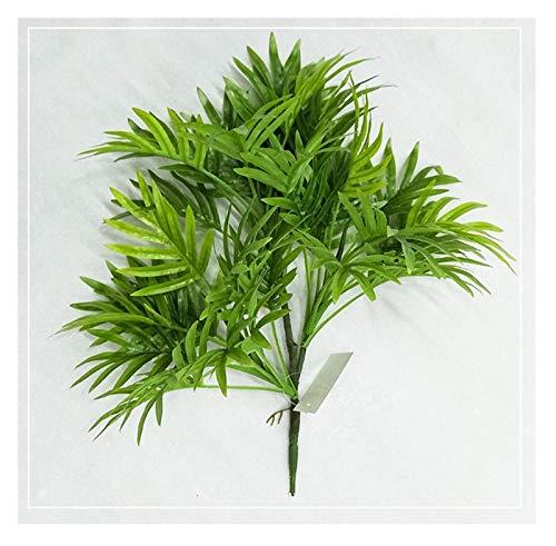 ADosdnn Künstliche Palme Zweig Grün Gefälschte Tropische Pflanzen Indoor Rare Topf Hotels Office Desktop Shop Home Deco Pflanzen (Color : 38cm No Basin B)
