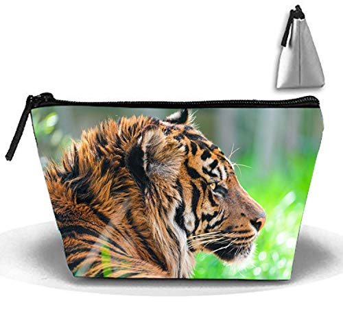 German Shepherd Make-Up Cosmetic Tote Bag Trapezoidal Carry Case