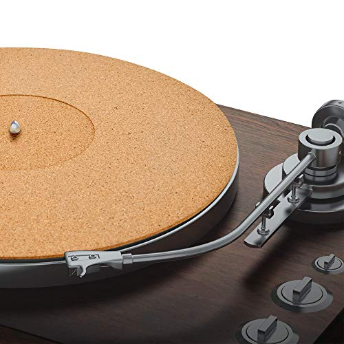 Cork Turntable Mat by Pro-Spin for Vinyl LP Record Players (3mm) High-Fidelity Audiophile Acoustic Sound Support | Help Reduce Noise Due to Static and...
