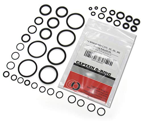 Captain O-Ring - FX Wildcat MKII [MK2] (.177/.22/.25/.30) Complete 41 Piece O-Ring Rebuild Kit