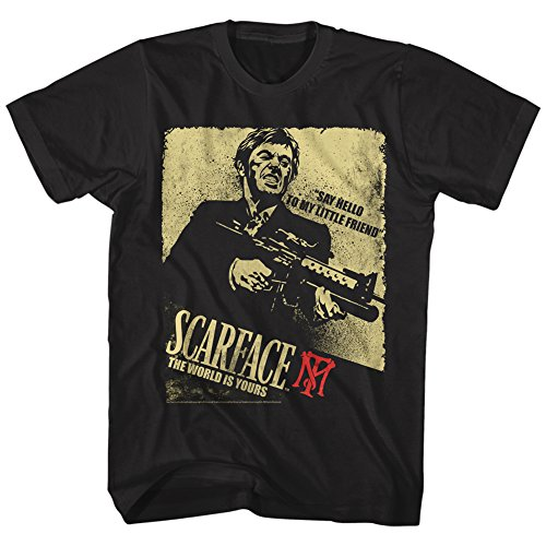 2Bhip Scarface Say Hello to My Little Friend Movie Pacino Tony Montana...