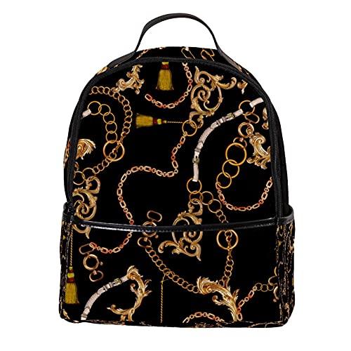 AITAI Mochila de cuero PU retro hermosa escuela al aire libre College Bookbag fit mochila