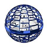 GoolRC Flynova Pro Bola Voladora Boomerang Spinner Dynamic RGB Lights Doble Paso (Bola Azul)