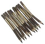 Gullor 10PCS Stylo à bille personnalisé vrai stylo en bois,...