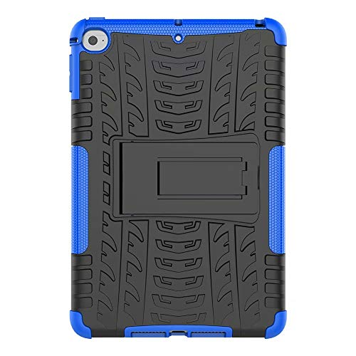 Bumina Galaxy Tab A 8.0 2019 SM-T290/T295, Slim Heavy Duty Shockproof Rugged Case Hard PC+Siliconen High Impact Full Body Beschermhoes voor Samsung Galaxy Tab A 8.0 2019 SM-T290/T295 Blauw
