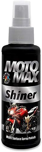 Pidilite Motomax Shiner Multi surface Spray Polish 100 ml Instantly Cleans and Shines Bikes, Motorbikes, Cars   Usefu...