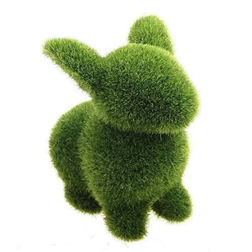 XCVB Ingemaakte kunstbloem Kunstmatige Nep Faux Emulatie Dier Fuzzy Skin Tuin Bloempot Kunstbloem Decor Craf, Konijn