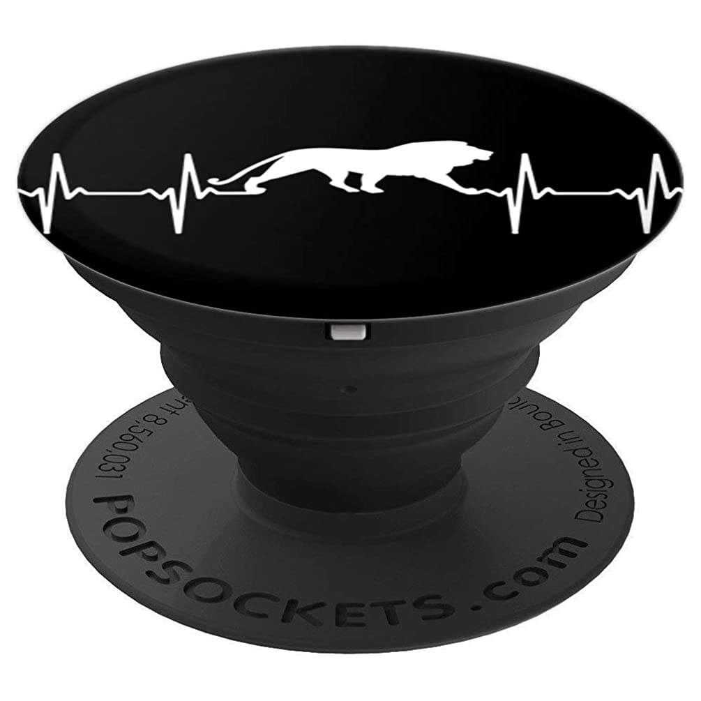Lion Of Judah Heartbeat - Tribe Of Judah - PopSockets Grip and Stand for Phones and Tablets