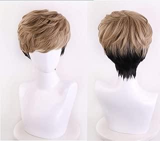 FidgetKute Killing Stalking Oh Sangwoo Wig Mixed Brown Black Hair Cosplay Wigs