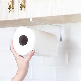 Kitchen PaPer Roll Holder Trivets Towel Rack Cabinet Napkins Storage Rack Holder Kitchen Roll Holder Dispenser Under Cabin...