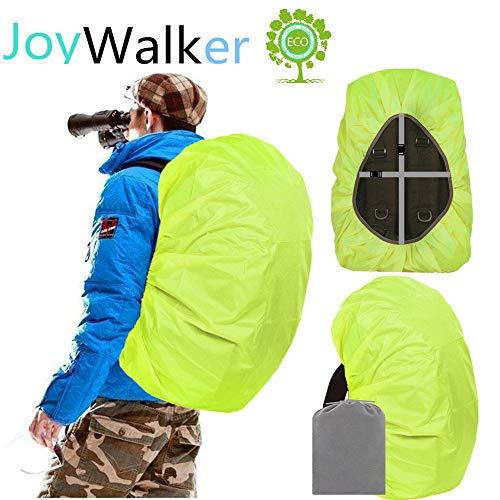 Joy Walker Waterproof Backpack Rain Cover for (15-90L) (Light Green, Large (for 40-50L Backpack))