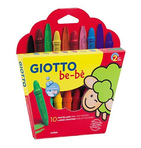 Giotto Be-Bè Súper Ceras Est. 10 Uds +Sacap.