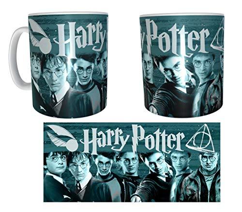 Los Eventos de la Tata. Tazza dei personaggi di Harry Potter.
