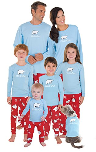 PajamaGram Chill Out Matching Family Pajamas