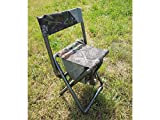 SUTTER Chaise de Chasse et d'affût, Pliable/avec Sac à Dos de 5 litres/Chasse aux Pigeons/Chaise Cacher d'affût