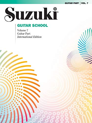 Suzuki Guitar School Guitar Part, Volume 7 (The Suzuki Method Core Materials)