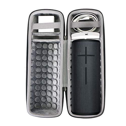 Duro Viajar Caso Cubrir para Ultimate Ears UE MEGABOOM 3 Altavoz Bluetooth por co2CREA (Negro de Carga)