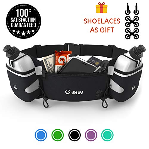 G-Run Hydration Running Belt With Bottles