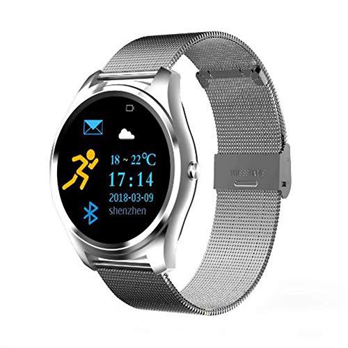 XNNDD Smart Watch Sport Blutdruck Herzfrequenzmessung Männer und Frauen Wasserdicht Stoßfest Herren Multifunktionsuhr Damenuhr Fitnessuhr