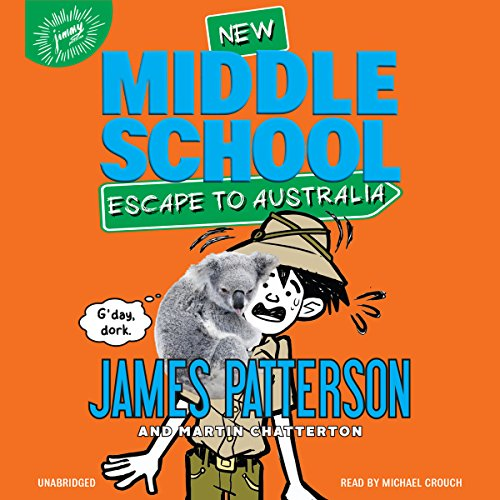 Middle School: Escape to Australia audiobook cover art