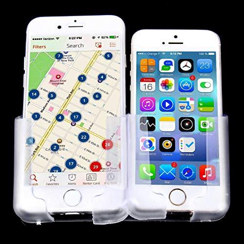 XUJINQI Auto Smart Sensor Telefoonhouder Beugel BH-018 Multifunctionele Mobiele Telefoon Stents GPS Navigator Beugel Houder, voor iPhone/Galaxy/Huawei/Xiaomi/Sony/LG/HTC/Google en anderen, Transparant