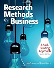 Research Methods For Business: A Skill Building Approach by Uma Sekaran (2016-06-27)