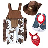 LXKIKMM May's Baby Baby Toddler Boys The Cowboy Romper...