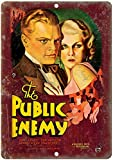 KODY HYDE Metall Poster - The Public Enemy Cagney Movie -