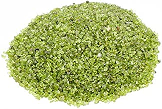 Zungtin 1 lb Peridot Small Tumbled Chips Crushed Stone Healing Reiki Crystal Jewelry Making Home Decoration