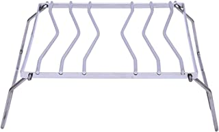 kalili クッカースタンド 五徳 ステンレス鋼製 アウトドア バーベキュー 折り畳み式 軽量