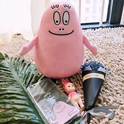20 cm simulatie cartoon barbapapa knuffel zachte gevulde poppen voor baby kinderen comfort zachte gift speelgoed home decor kinderen verjaardagscadeau roze (kleur: rosa) Dpprdl (Color : Rosa)