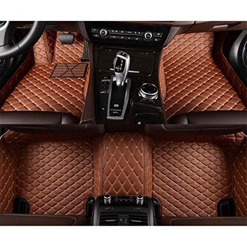 ZhengELE Coche tapetes Personalizados Cojines del pie del automóvil de la Cubierta de la Alfombra por Acura MDX 5 Asiento y Asiento 7 2006 2007 2008 a 2018 (Color Name : Light Brown)