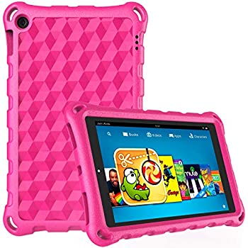 Fire 7 Tablet Case,Kindle Fire 7 Case,DiHines Lightweight Kids Shockproof Case Cover for Amazon Fire 7 Tablet  Compatible with 7th Generation 2017 Release/9th Generation 2019