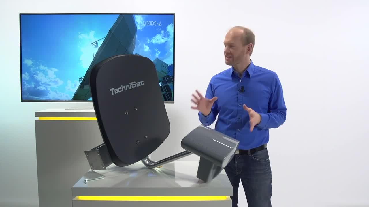 Technisat Multytenne Quattro Satellitenschüssel Beige Elektronik