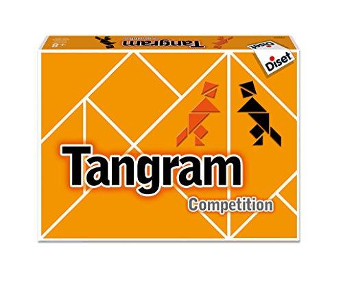 Diset- Tangram Competition Juego de Mesa, Multicolor (76504) (Juguete)