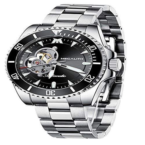 2020 Reloj de Lujo para Hombre Relojes mecánicos automáticos 30M Reloj Luminoso Impermeable Reloj Deportivo para Hombre Reloj mecánico
