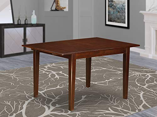 Norfolk rectangular table with 12' Butterfly Leaf  -Oak Finish.