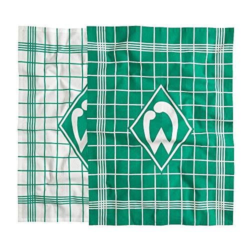 Werder Bremen SV Geschirrtuch, Handtuch 2er-Set, 21-35001