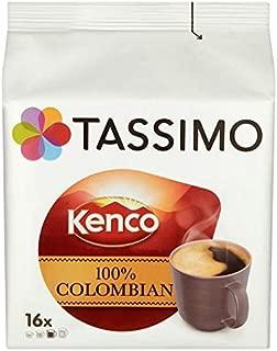 Tassimo Kenco 100% Colombian - 16 per pack (1.74lbs)