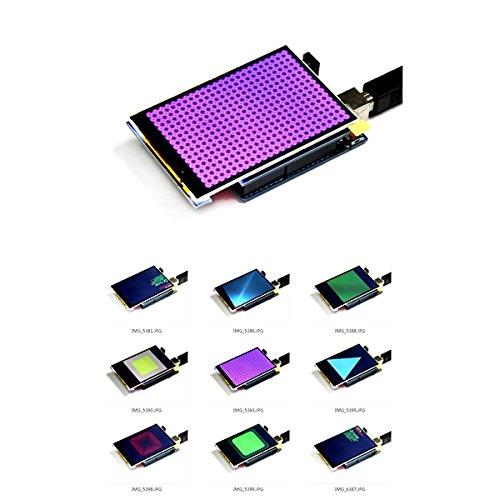 Módulo de pantalla TFT a color de 3,5 pulgadas, 320 x 480, compatible con Arduino UNO Mega2560